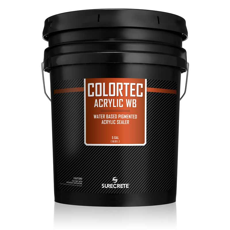 ColorTec Acrylic WB | Water Base Colored Concrete Floor Paint