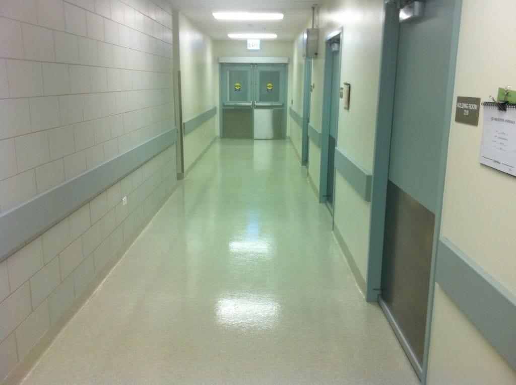 Commercial Hallway Epoxy Floor