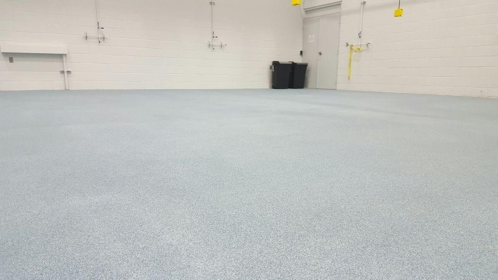 Industrial Epoxy Quartz Broadcast Floor