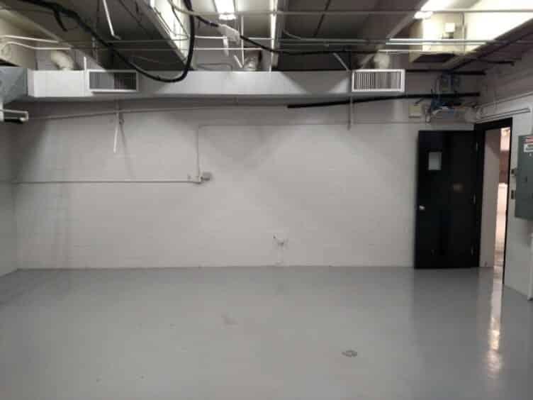 Light Gray Epoxy Commercial Floor