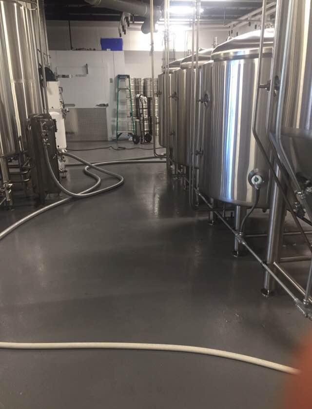 Micro Brewery Epoxy Floor Coating