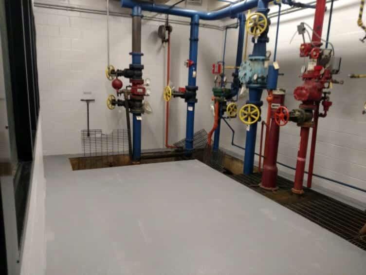 Industrial Epoxy Floor Coating Light Gray
