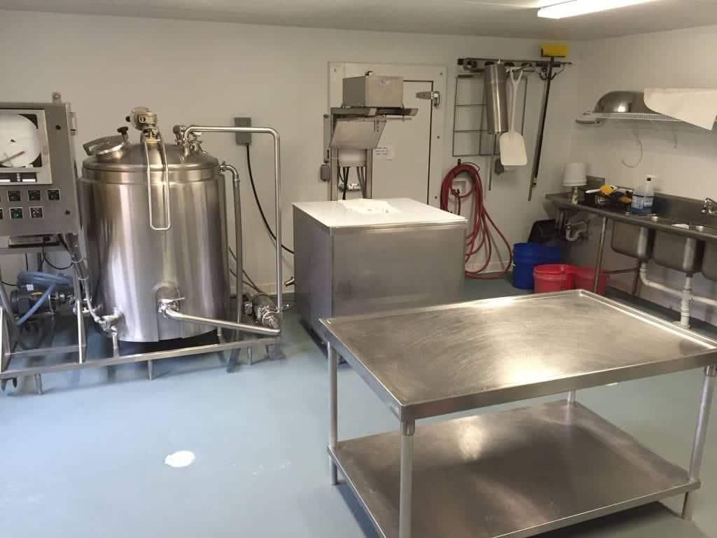 Gray Epoxy Kitchen Floor Coating