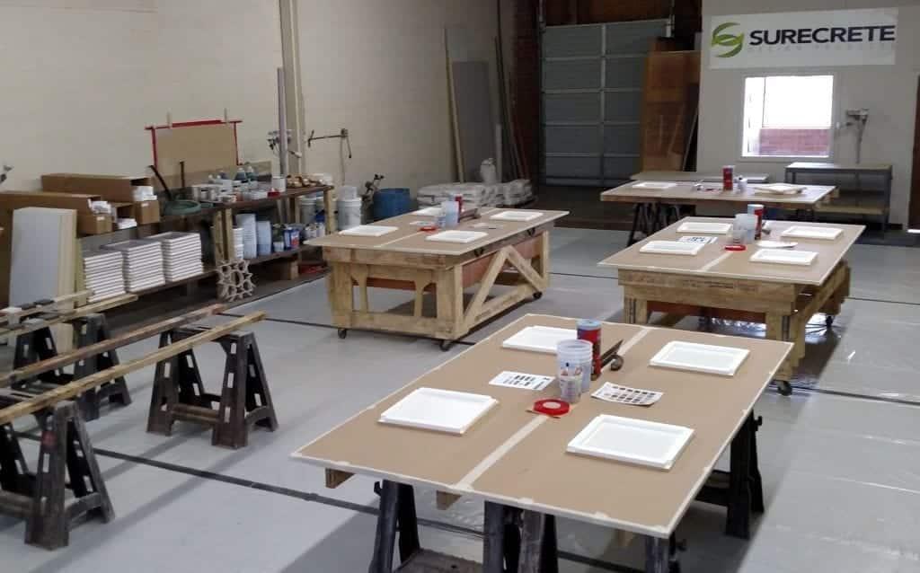 Countertop Charlotte Concrete Training Class