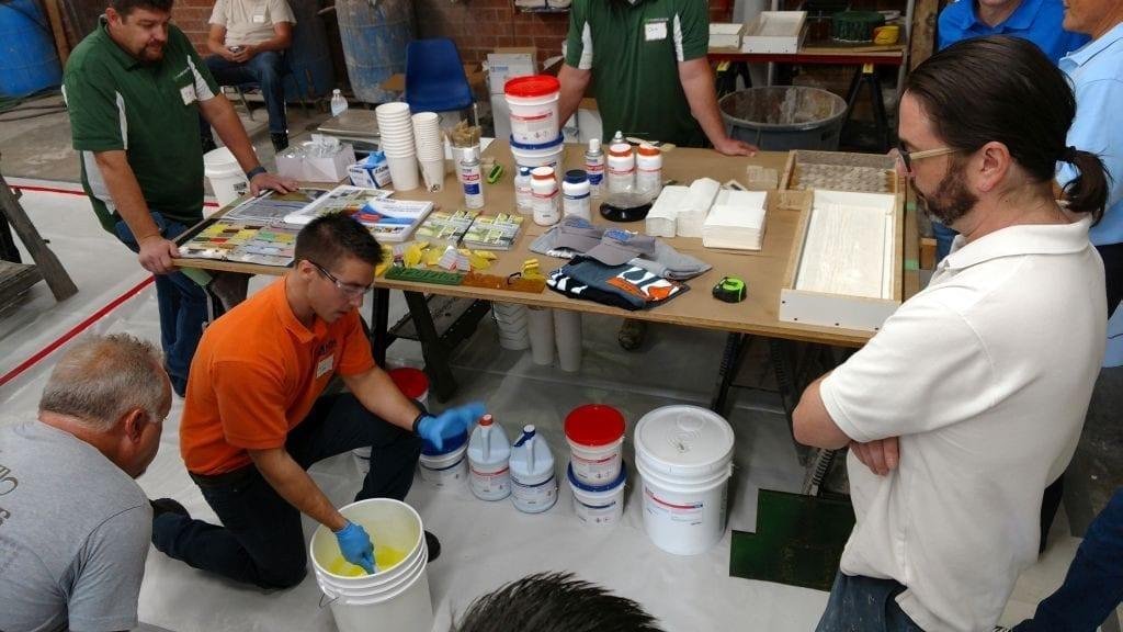 Precast Molding Charlotte Concrete Training Class