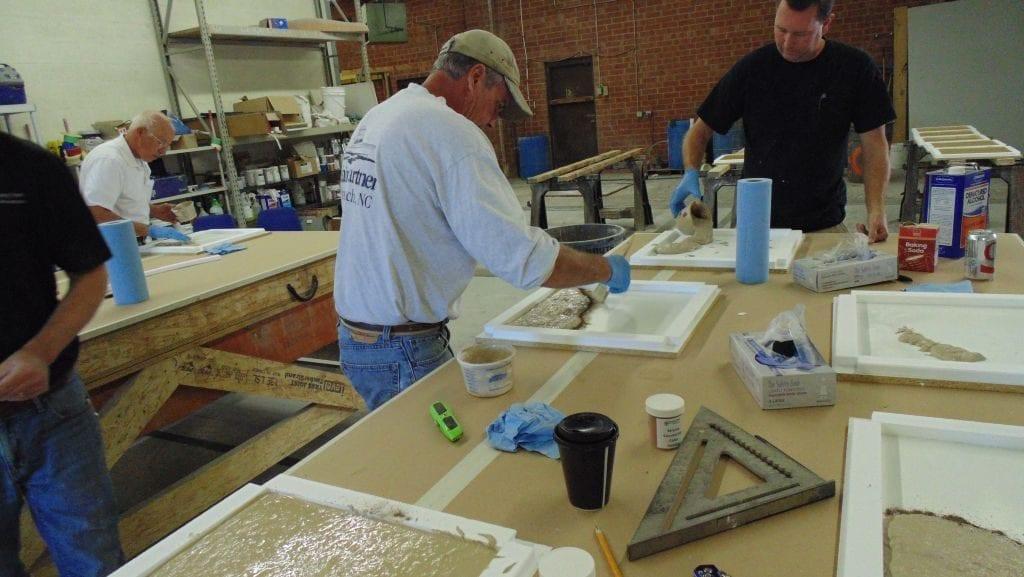Concrete Casting Charlotte Concrete Training Class