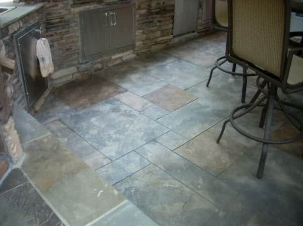 Slate Looking Concrete Overlay Photo