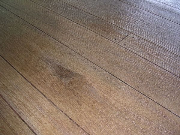 Wood Concrete Overlay Photo
