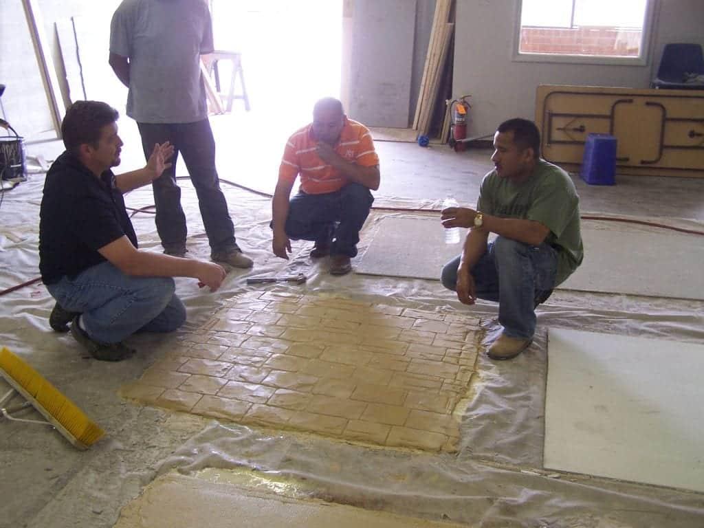 Decorative Concrete Training