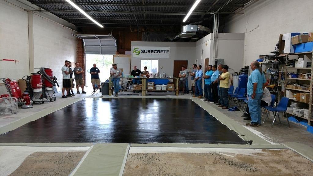 Charlotte Concrete Training Class