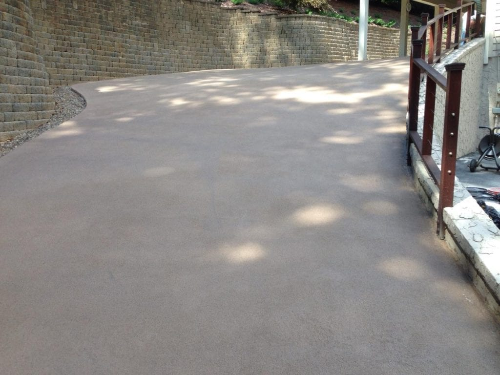 Ramp Concrete Overlay Photo