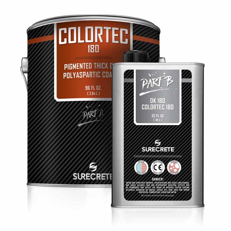 ColorTec 180 | Colored Polyaspartic Concrete Floor Coating