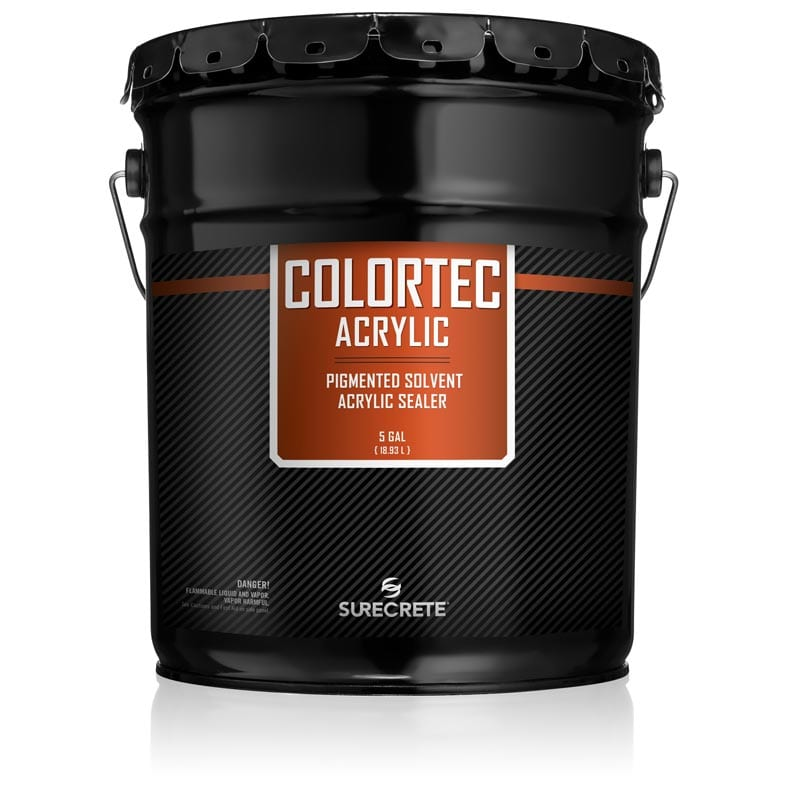 ColorTec Acrylic | Colored Solvent Base Acrylic Concrete Sealer