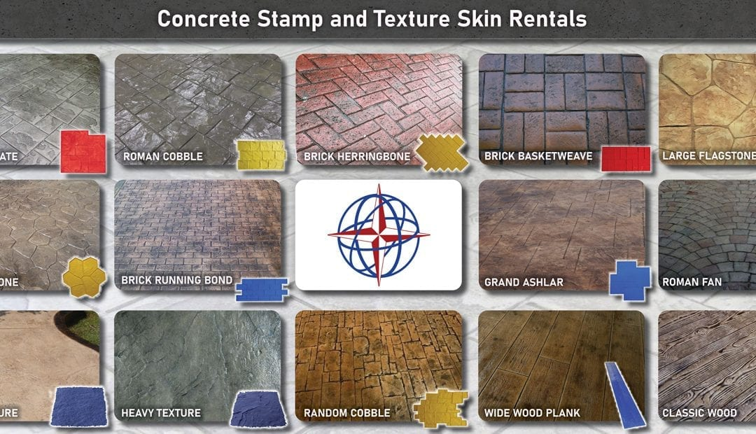 Contractors Only: Free Concrete Stamp Rentals Charlotte and Raleigh NC