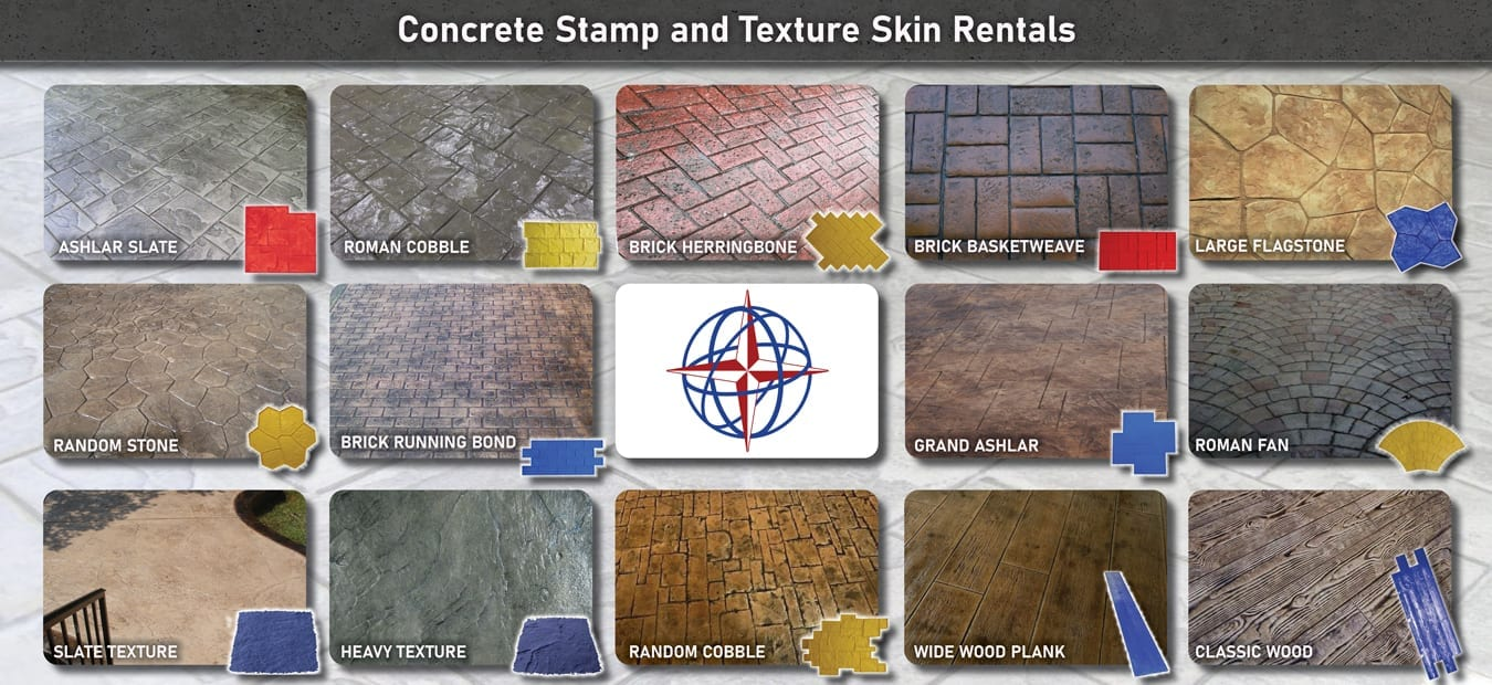 Free Concrete Stamp rental - Contractors Only