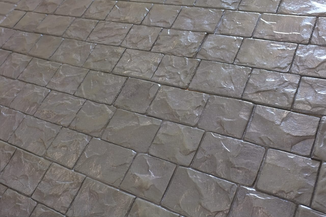 Concrete Stamp Rental Set Roman Cobble