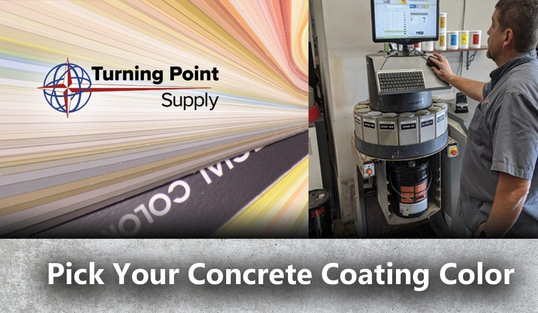 Over 200 Concrete Solid Paint Colors – Acrylic – Epoxy