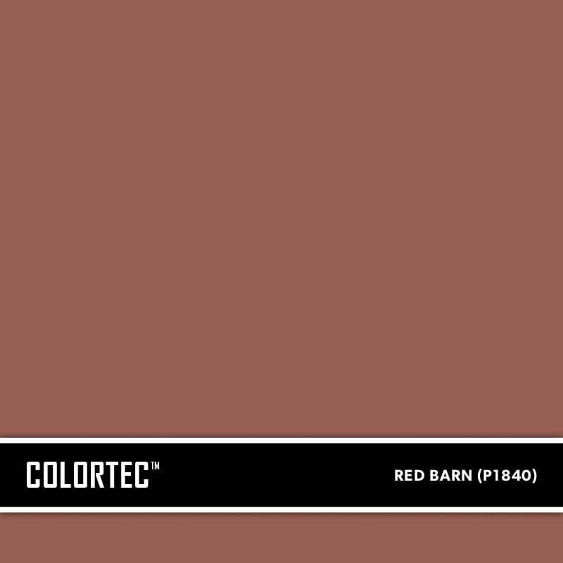 ColorTec Concrete Paint Color Red Barn