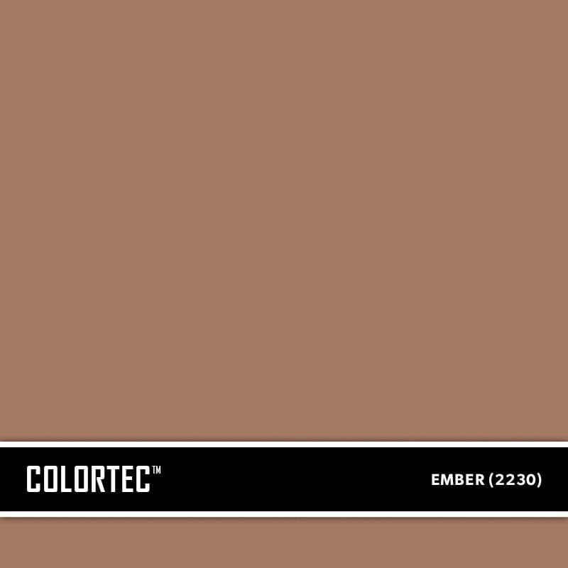 ColorTec Concrete Paint Color Ember