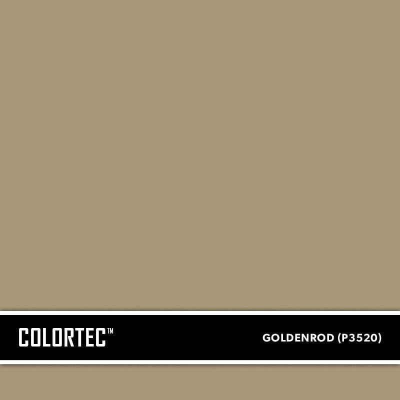 ColorTec Concrete Paint Color Goldenrod