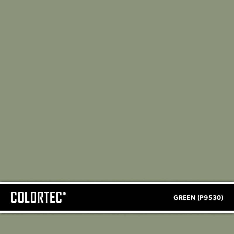 ColorTec Concrete Paint Color Green