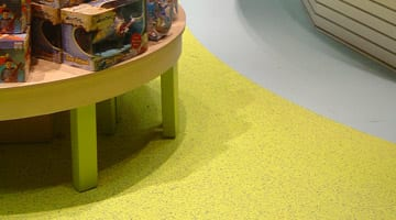 Decorative commercial grade epoxy floor coating material systems. Commercial quality quartz broadcast epoxy floor coating products. Non slip safety floor coating products.