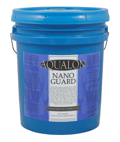 Aqualon Nano Guard Concrete Hardener Densifier High Gloss Concrete Sealer