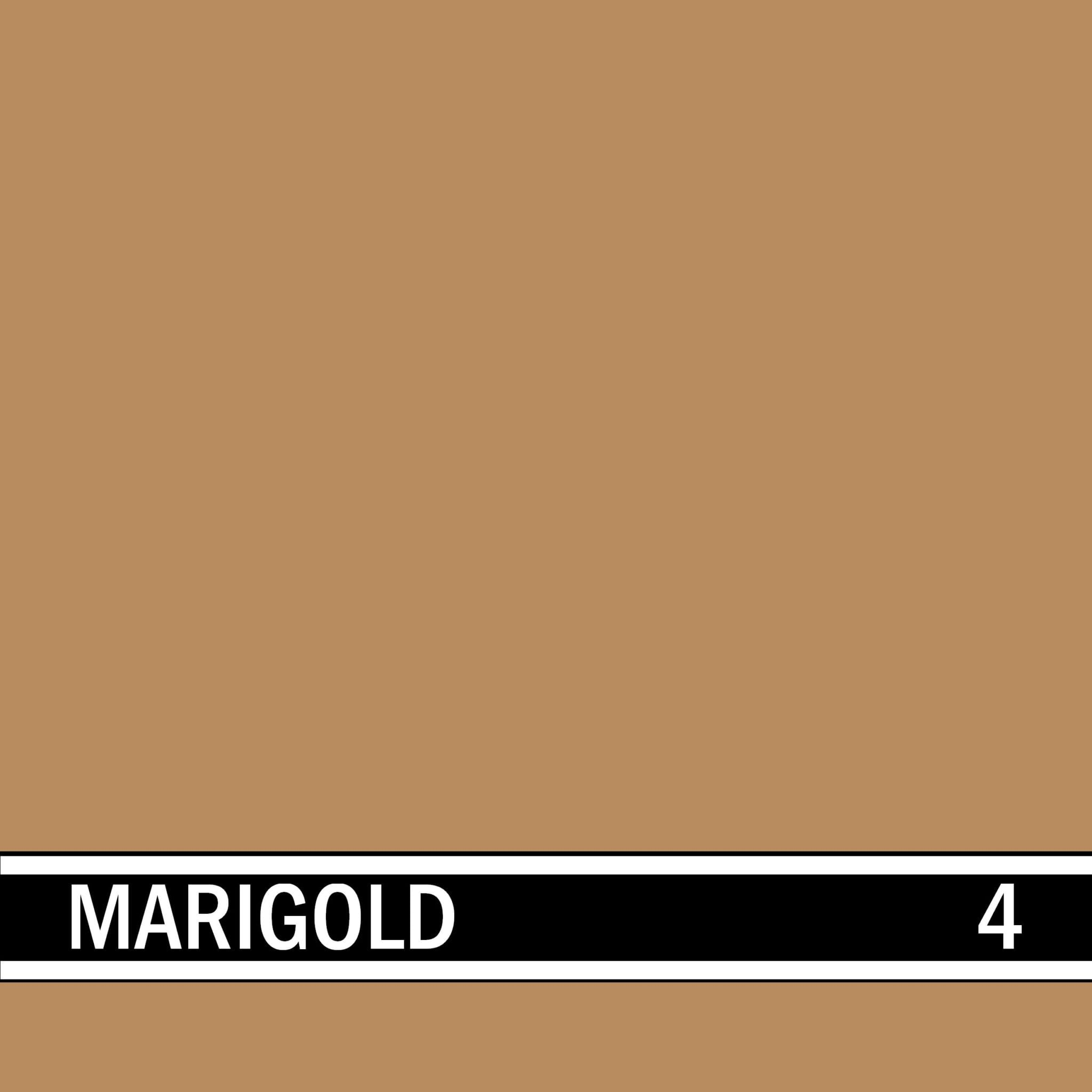Marigold integral concrete color for stamped concrete and decorative colored concrete