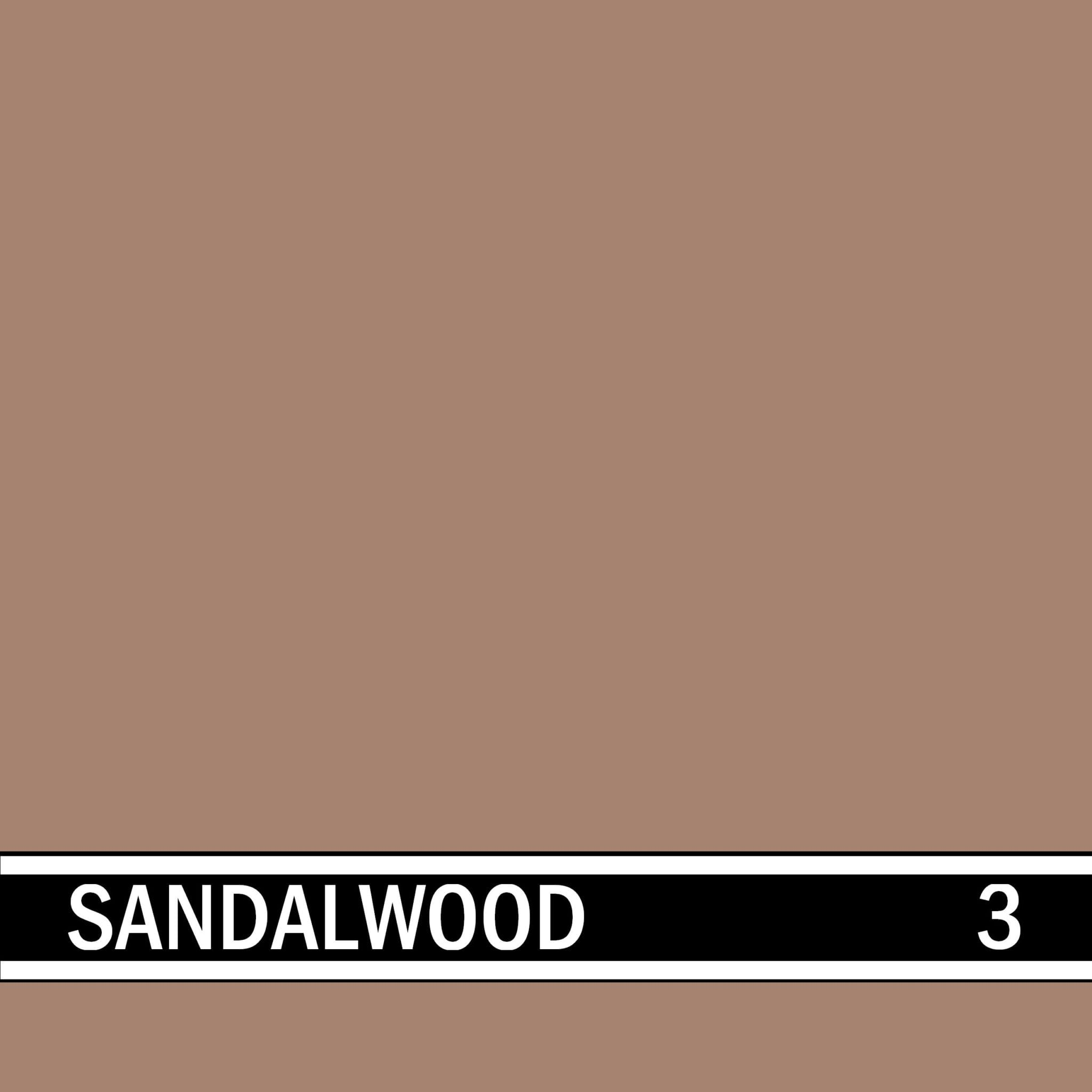 Sandalwood integral concrete color for stamped concrete and decorative colored concrete