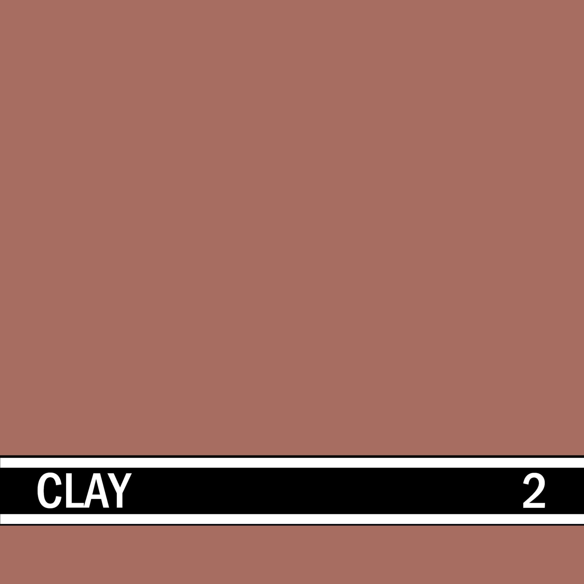 Clay integral concrete color for stamped concrete and decorative colored concrete