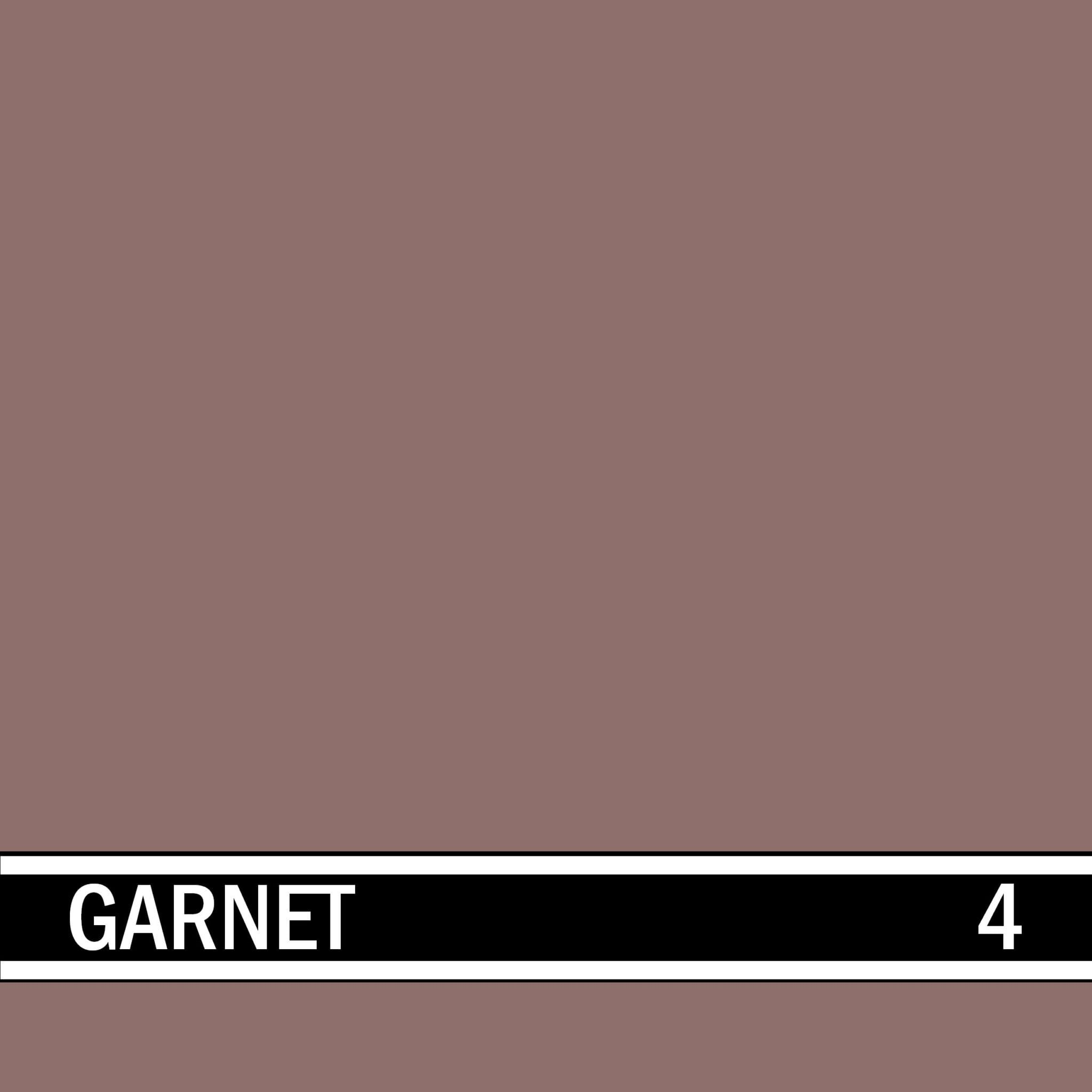 Garnet integral concrete color for stamped concrete and decorative colored concrete