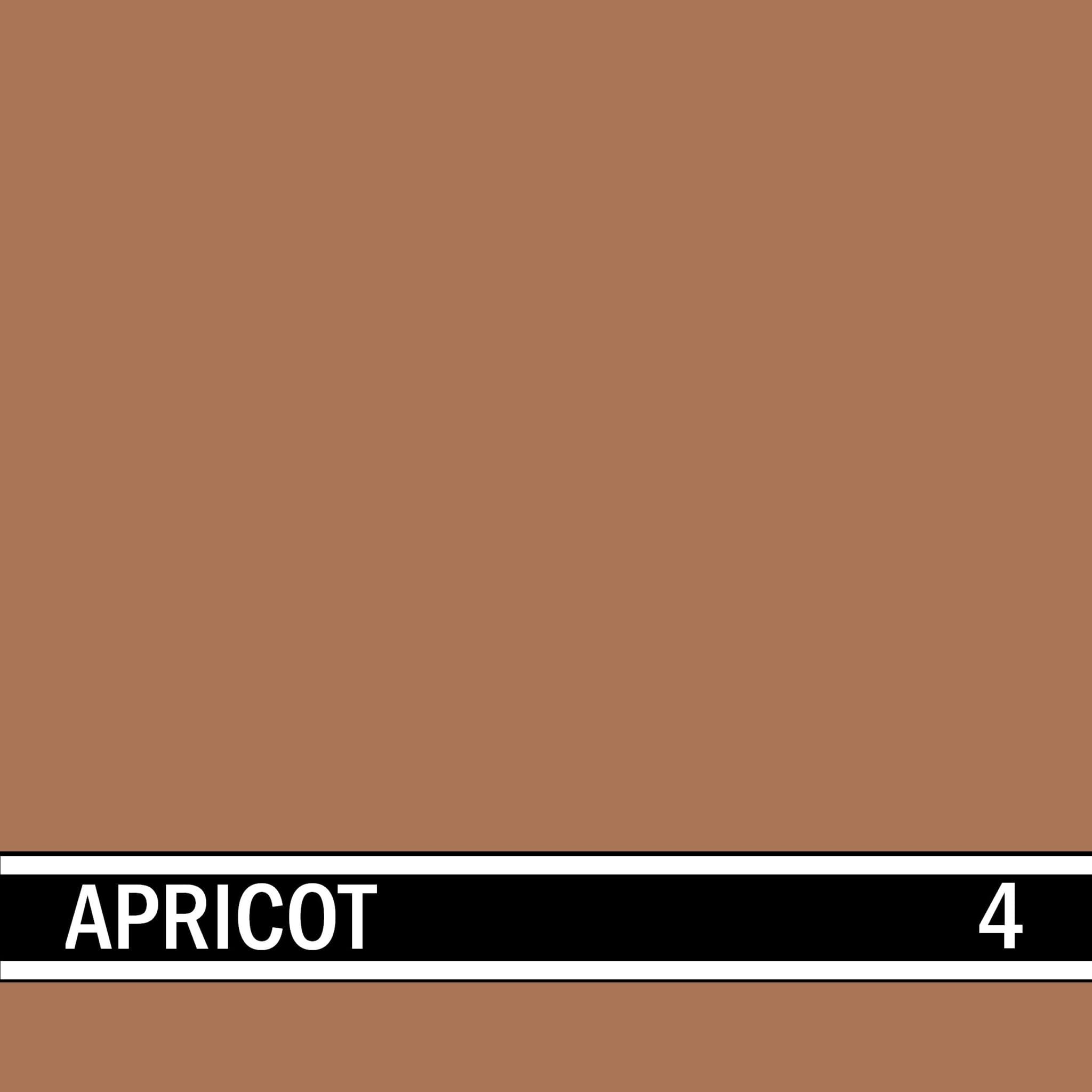 Apricot integral concrete color for stamped concrete and decorative colored concrete