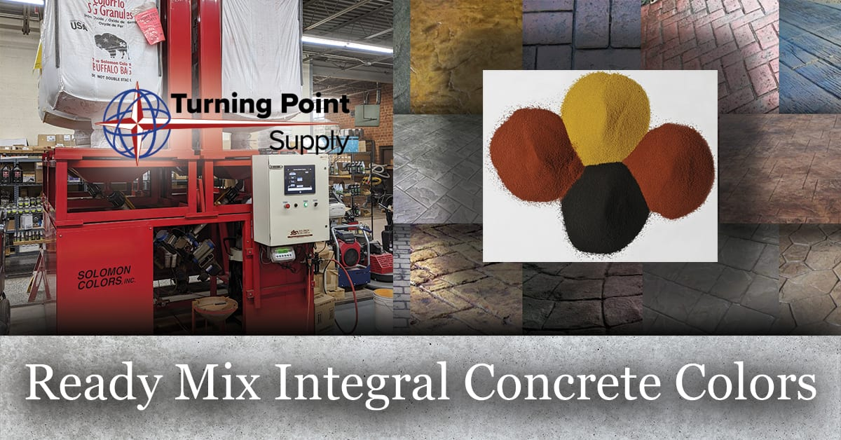 Ready Mix Integral Concrete Colors Located in Charlotte and Raleigh NC
