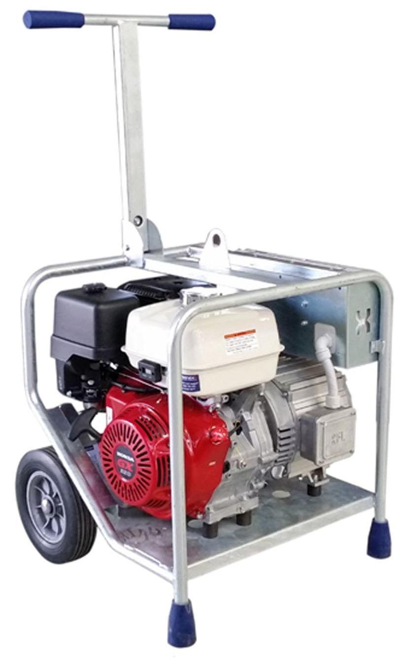 Industrial Generator Makinex 9KW 230 Volt 3 Phase