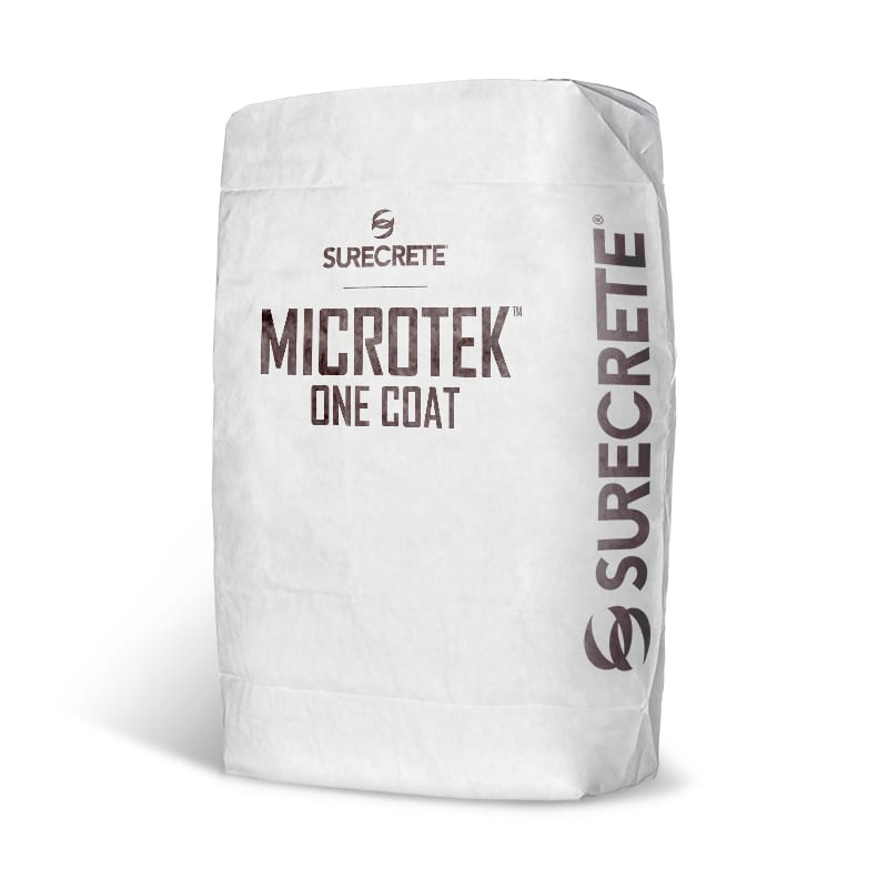 MicroTek Microtopping thin finish concrete overlay product. Thin polymer modified cement concrete overlay material bag mix for decorative concrete texture projects. Wood look concrete looks best with microtek microtopping just add water concrete bag mix.