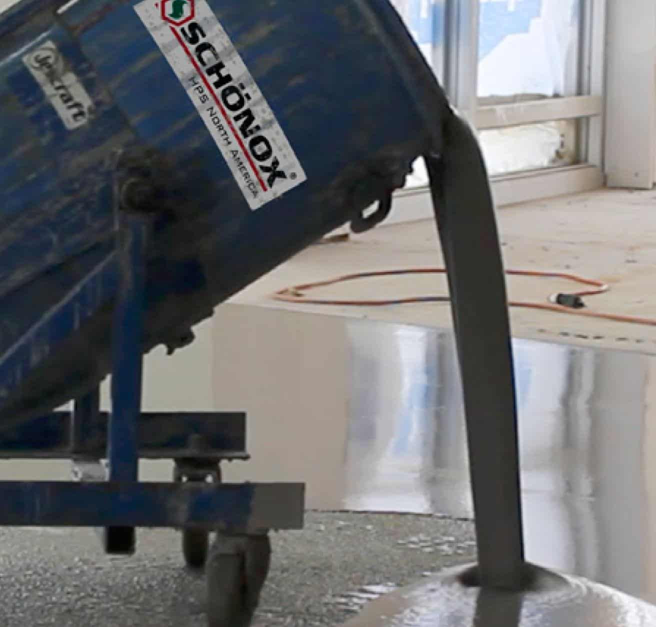 Floor Leveling Material Systems. Self Leveling Cement and Synthetic Gypsum Underlayments. Polished concrete self leveling wear topping mixes.