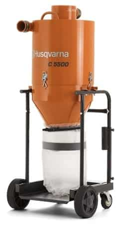 Husqvarna C5500 Dust Collection Pre Separator