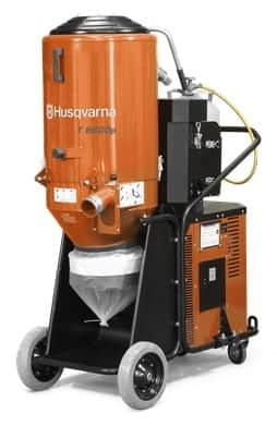 Husqvarna T8600P Propane Dust Collection Vacuum System