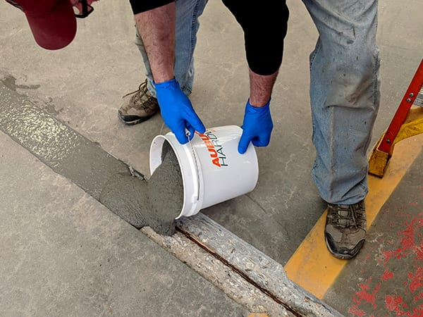 Metzger McGuire Industrial Concrete Floor Repair Materials to fix concrete floors in North Carolina and South Carolina