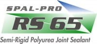 "Spal-Pro RS 65 is a 100% solids, two component rapid setting semi-rigid polyurea joint ""sealant"" intended for use in filling and protecting contraction and construction joints in retail or commercial concrete floors. Spal-Pro RS 65 was developed to seal floor joints in commercial/retail exposed concrete floors that are subject to pedestrian/cart traffic and very limited material handling traffic."