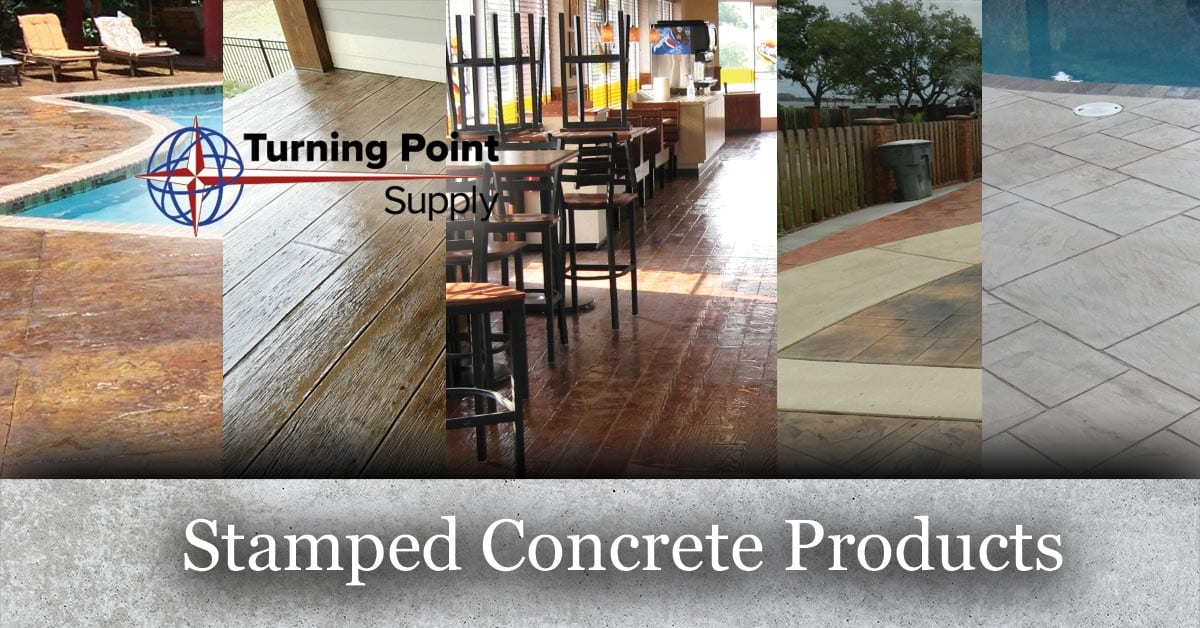 Stamped Concrete Products Charlotte Raleigh North Carolina