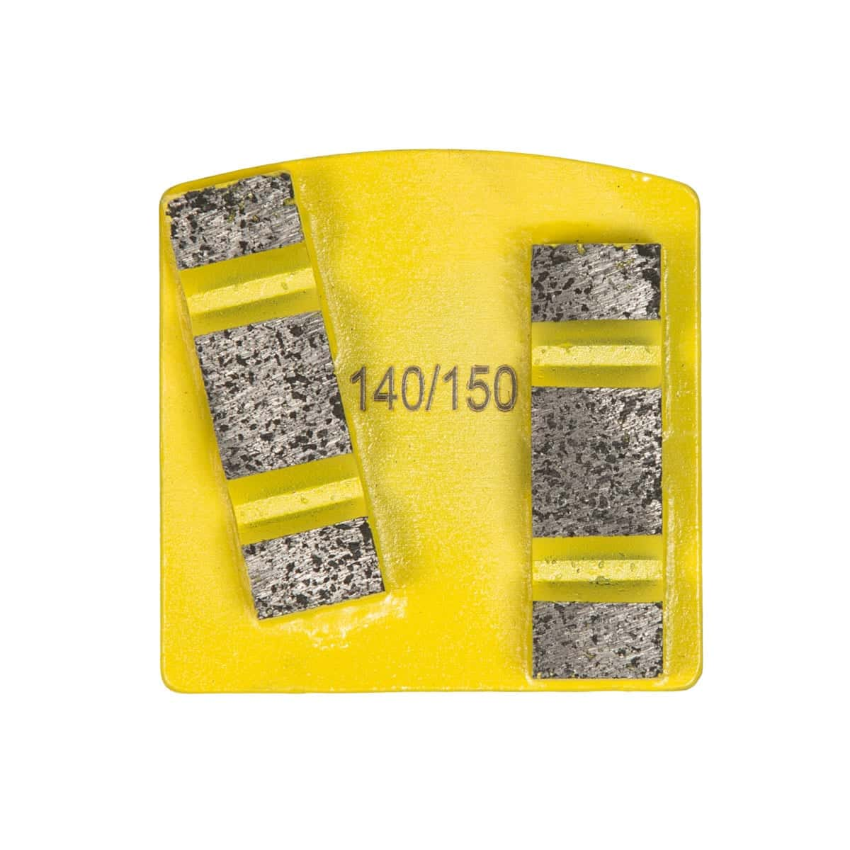 Front Extra Hard Concrete 8 mm - 12mm Concrete Diamond Tool Yellow Super Soft #16/20   #30/40   #60/80   #140/150 by Scanmaskin