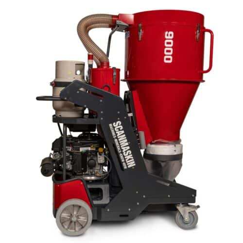 Propane Powered industrial Dust Collector - Scanmaskin 9000