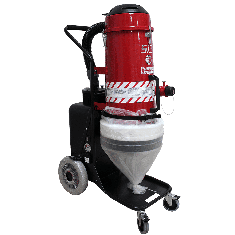 Pullman Ermator Vacuum – S13 Single-Phase HEPA Dust Extractor