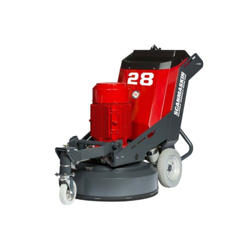 Front Scanmaskin 28 World Series Concrete Grinder 230 and 400 Volt Turning Point Supply
