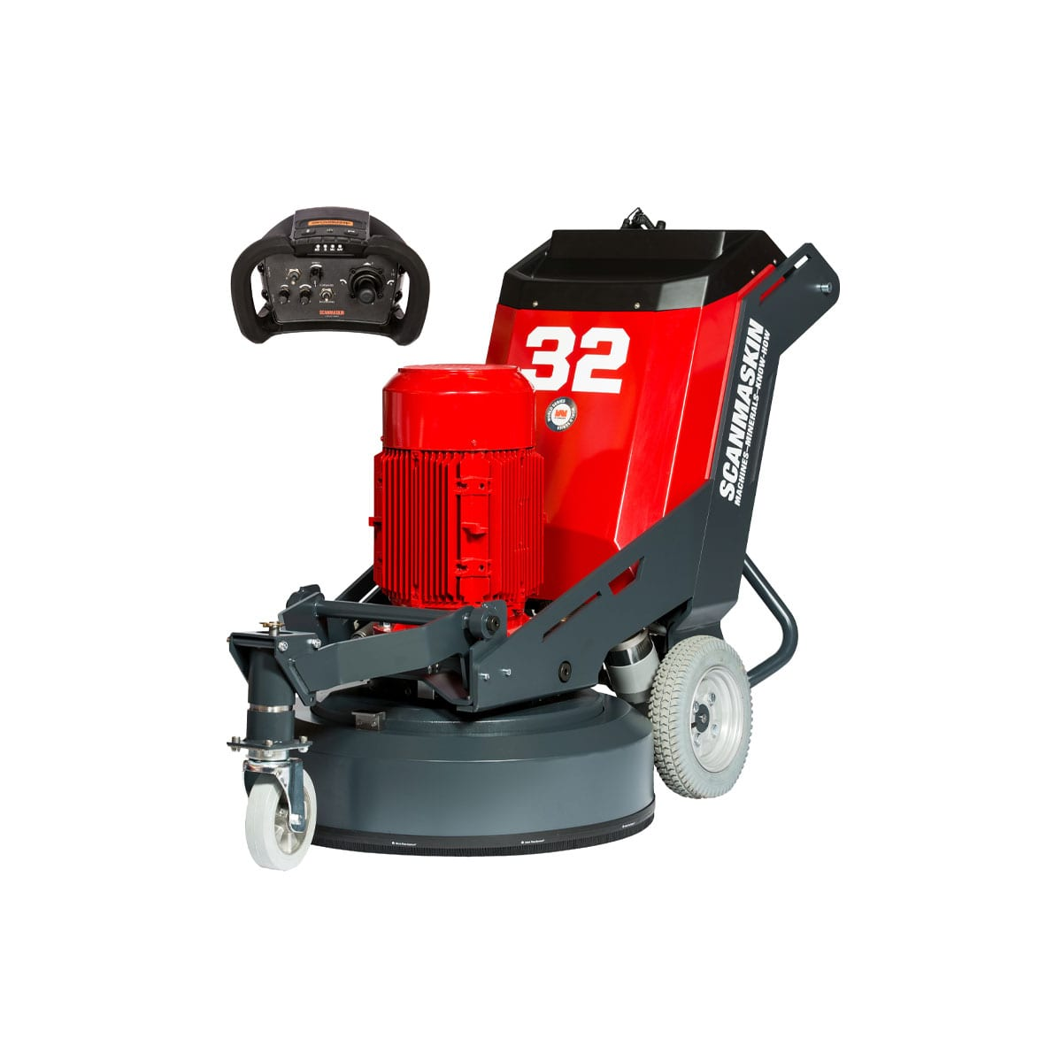 Scanmaskin 330 RS - regulated speed Concrete Grinder - Turning Point Supply