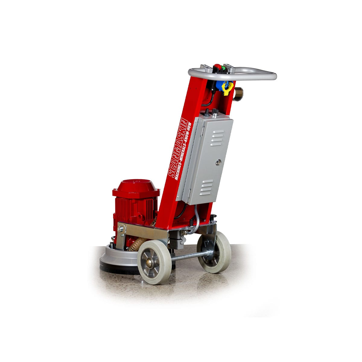 Back Scanmaskin 330 Concrete Grinder - Turning Point Supply