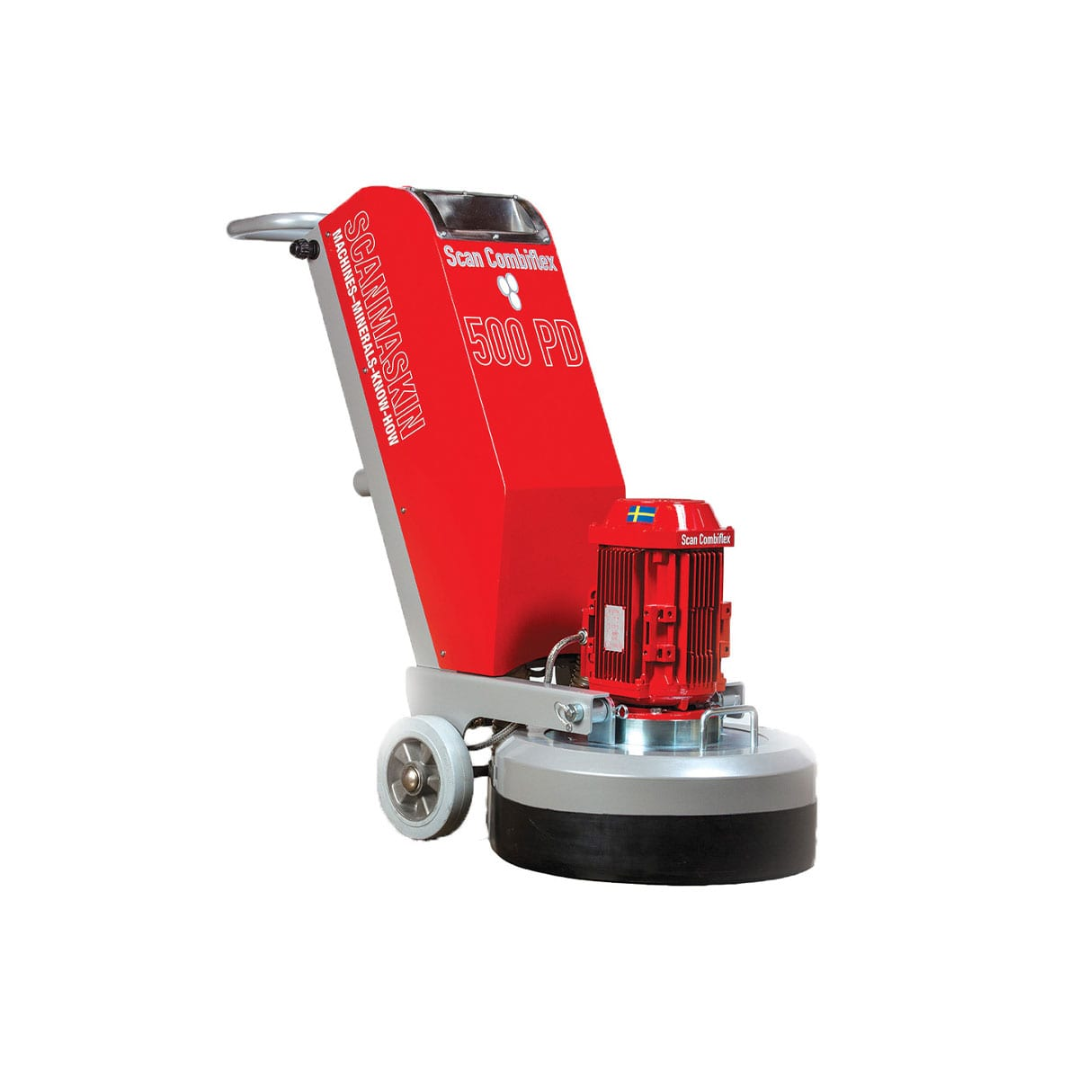 Scanmaskin ScanCombiflex 500 PD Concrete Grinder 230 Volt - Turning Point Supply North Carolina Dealer