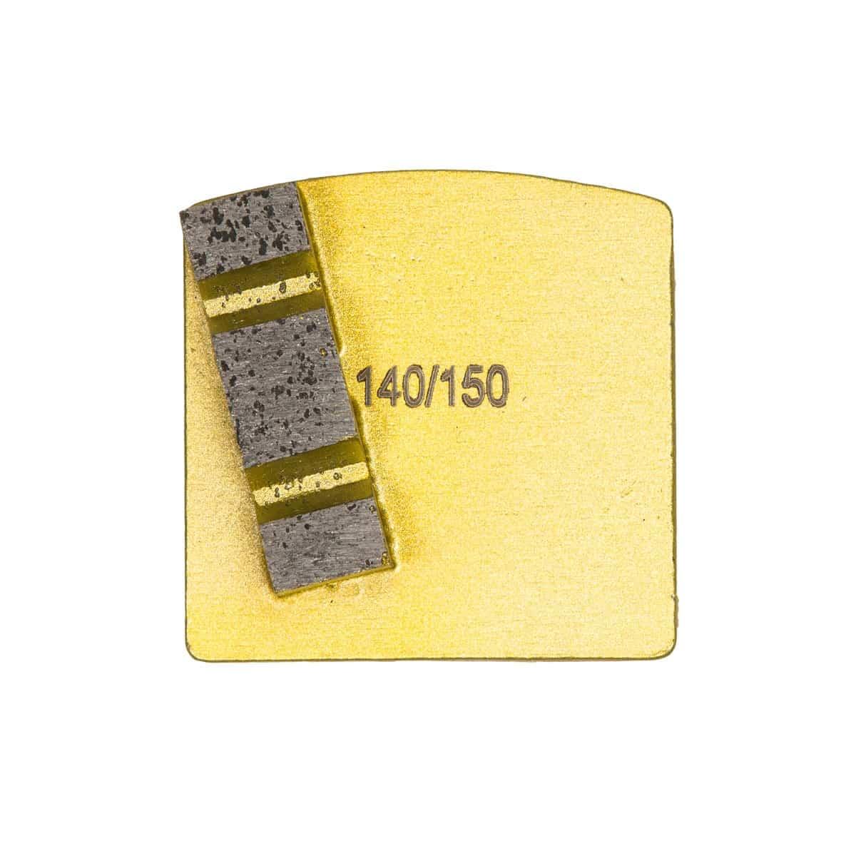 Scanmaskin World Series Diamond 8mm Single Gold Soft Bond Concrete Grinding Tool