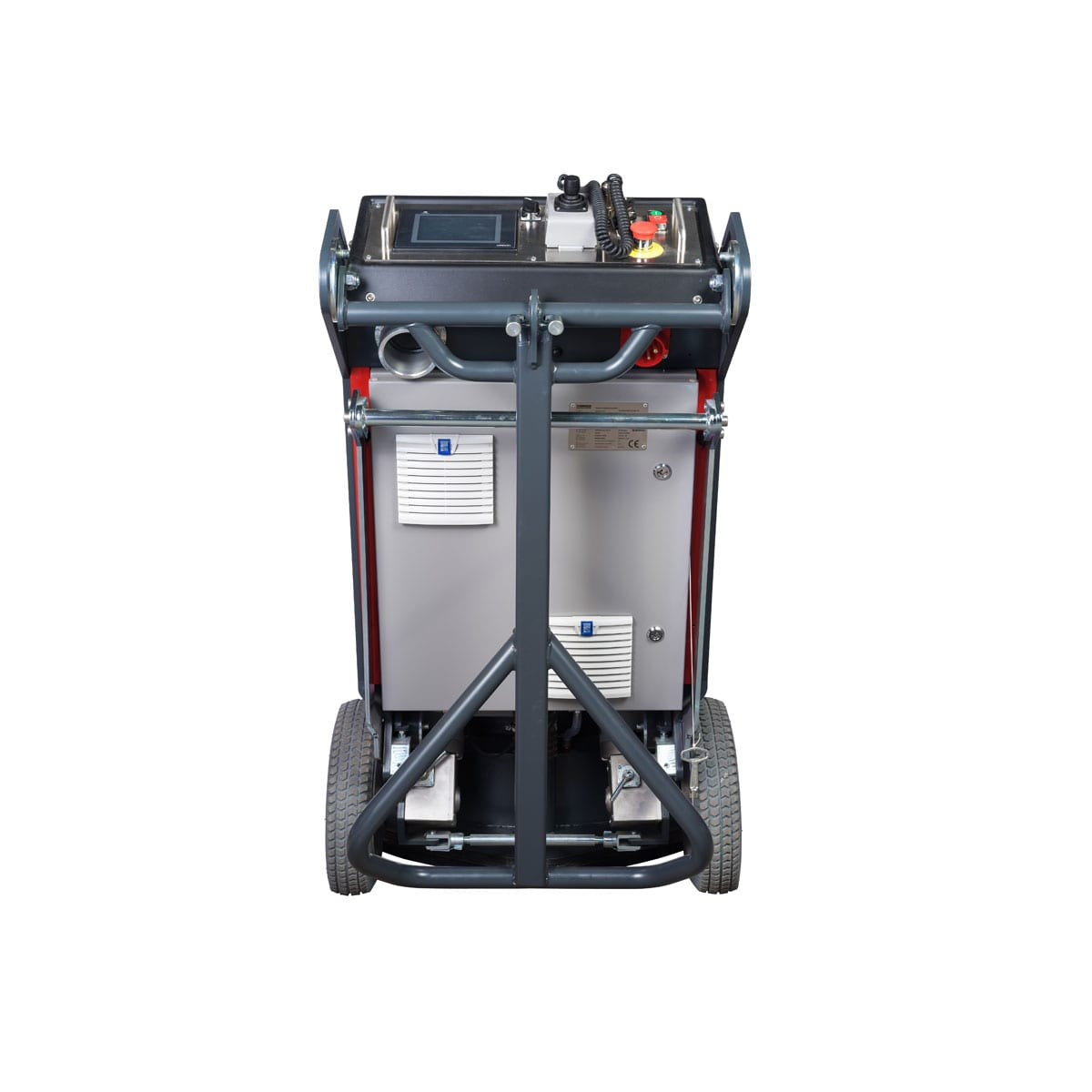 Back View Scanmaskin 28 World Series Concrete Grinder 230 and 400 Volt Turning Point Supply